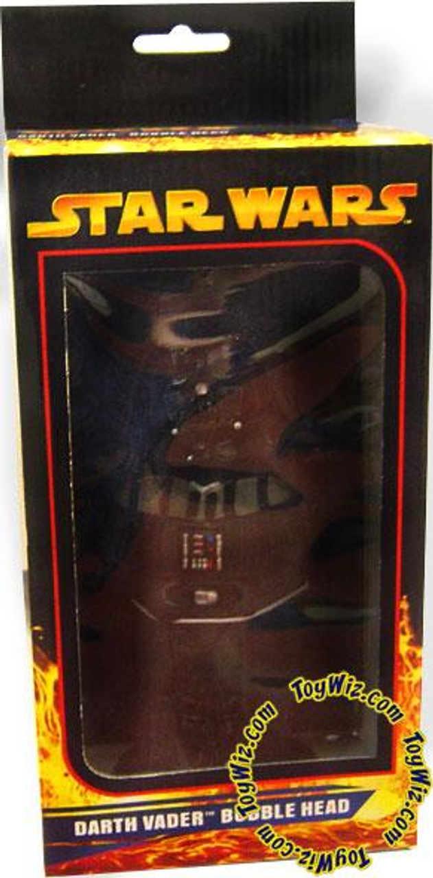 Star Wars Revenge of the Sith Bobble Heads Darth Vader Bobble Head