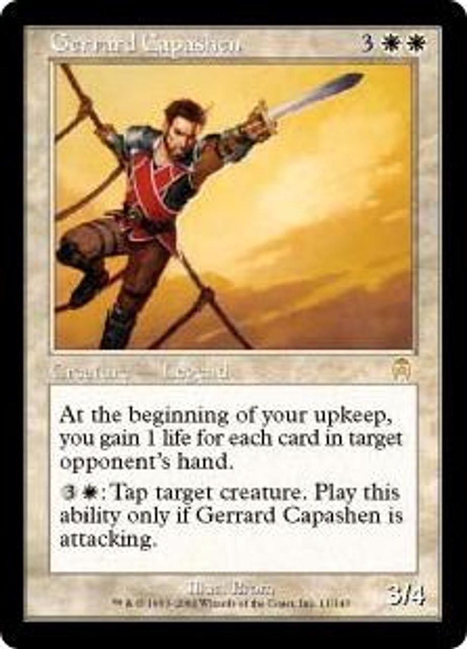 MtG Apocalypse Rare Gerrard Capashen #11