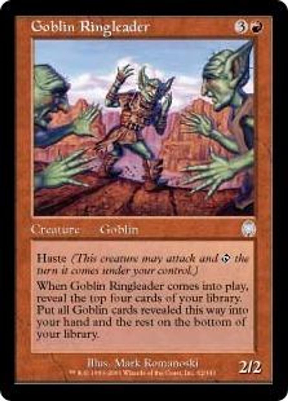 MtG Apocalypse Uncommon Goblin Ringleader #62