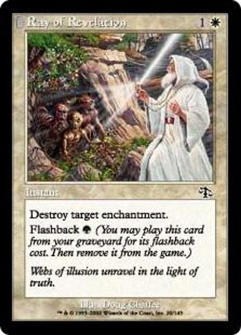 MtG Judgment Common Ray of Revelation #20