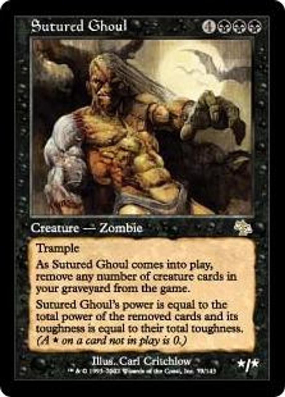 MtG Judgment Rare Sutured Ghoul #73