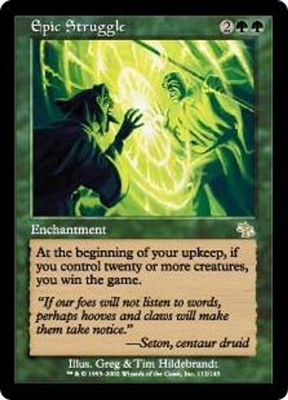 MtG Judgment Rare Epic Struggle #112