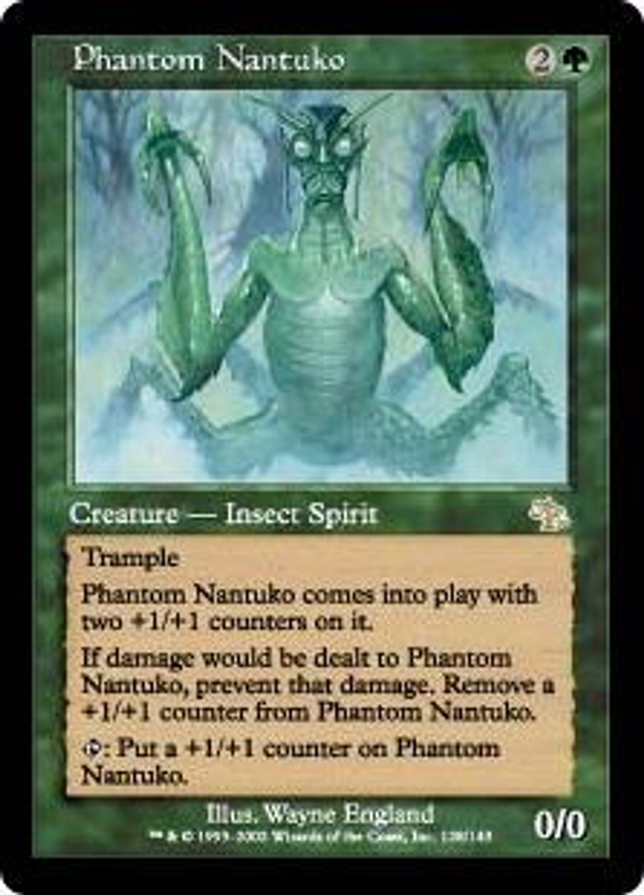 MtG Judgment Rare Phantom Nantuko #128