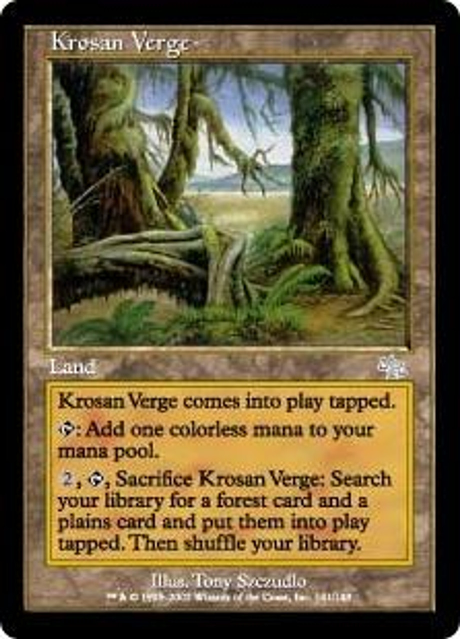 MtG Judgment Uncommon Krosan Verge #141