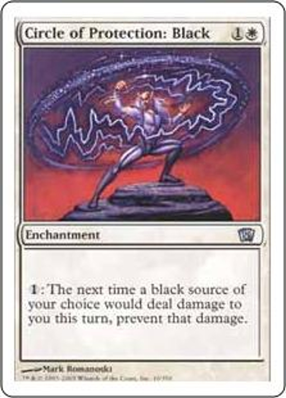 MtG 8th Edition Uncommon Circle of Protection: Black #10