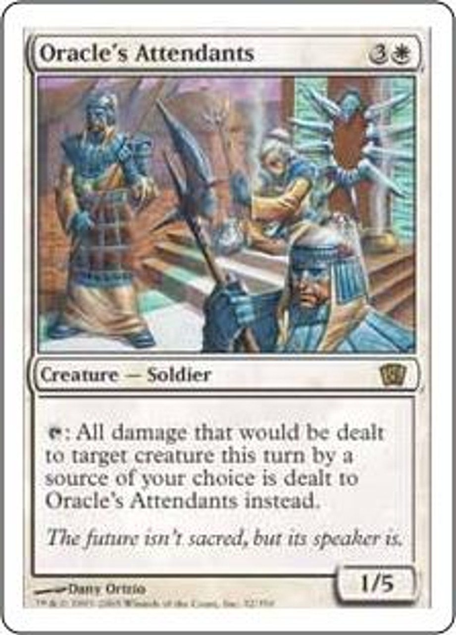 MtG 8th Edition Rare Oracle's Attendants #32