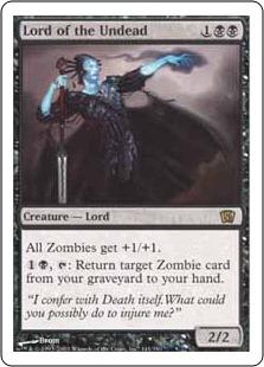 MtG 8th Edition Rare Lord of the Undead #141