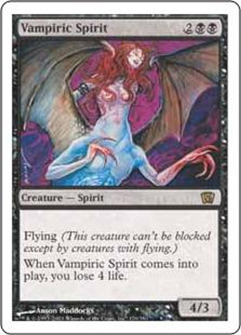 MtG 8th Edition Rare Vampiric Spirit #170