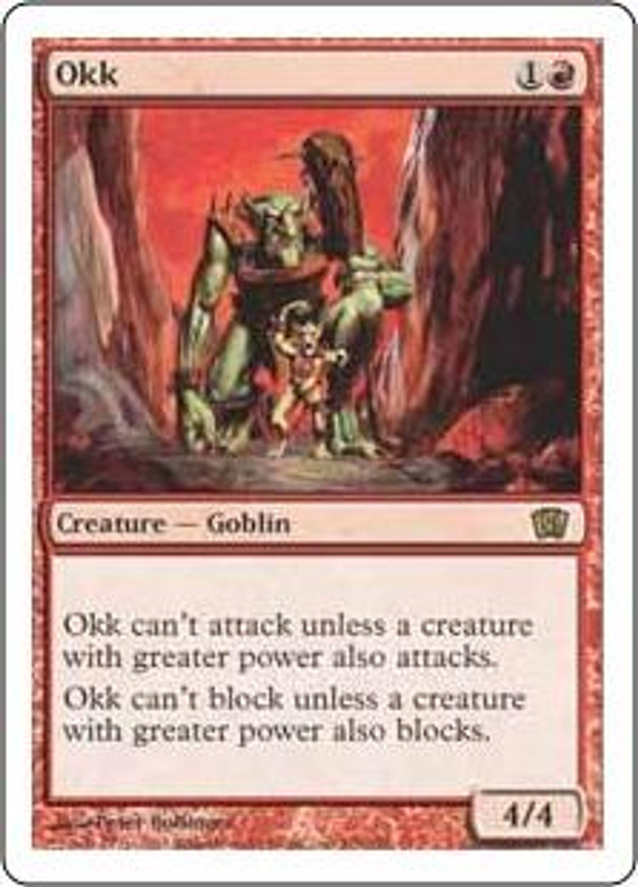 MtG 8th Edition Rare Okk #206