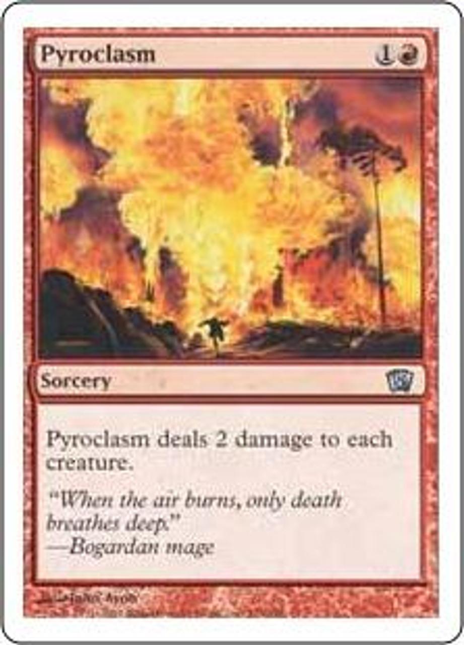 MtG 8th Edition Uncommon Pyroclasm #210