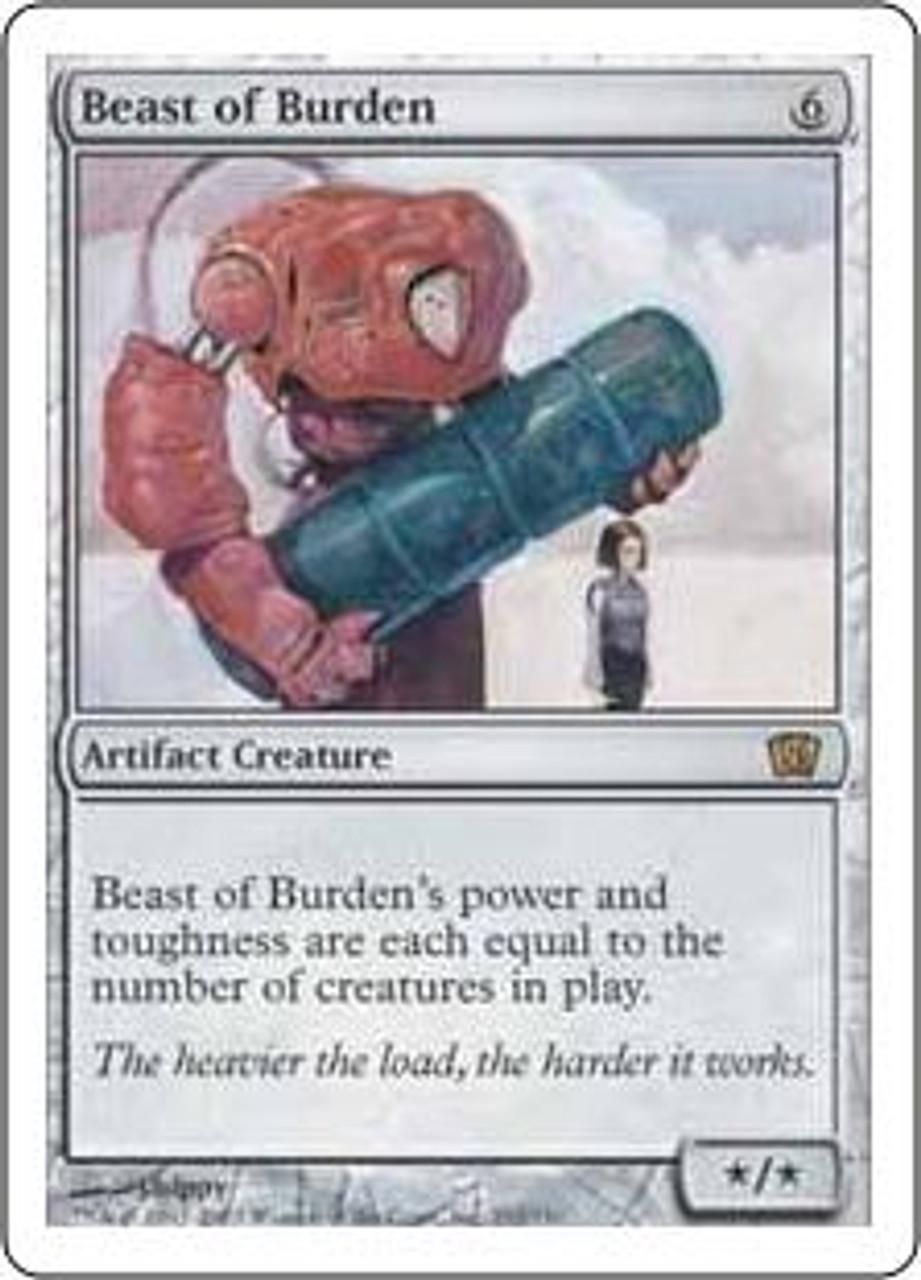 MtG 8th Edition Rare Beast of Burden #292