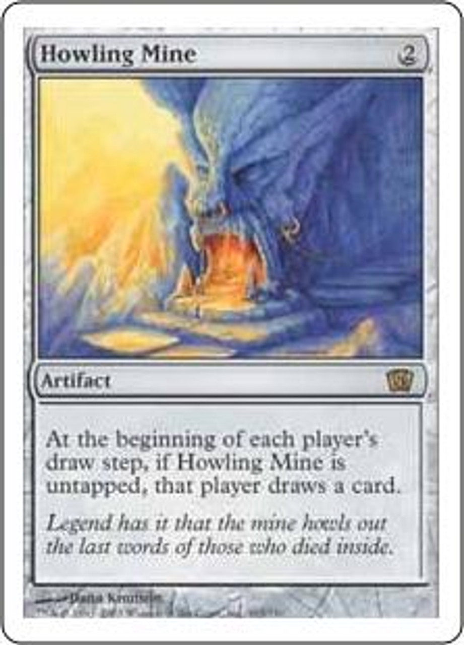 MtG 8th Edition Rare Howling Mine #303
