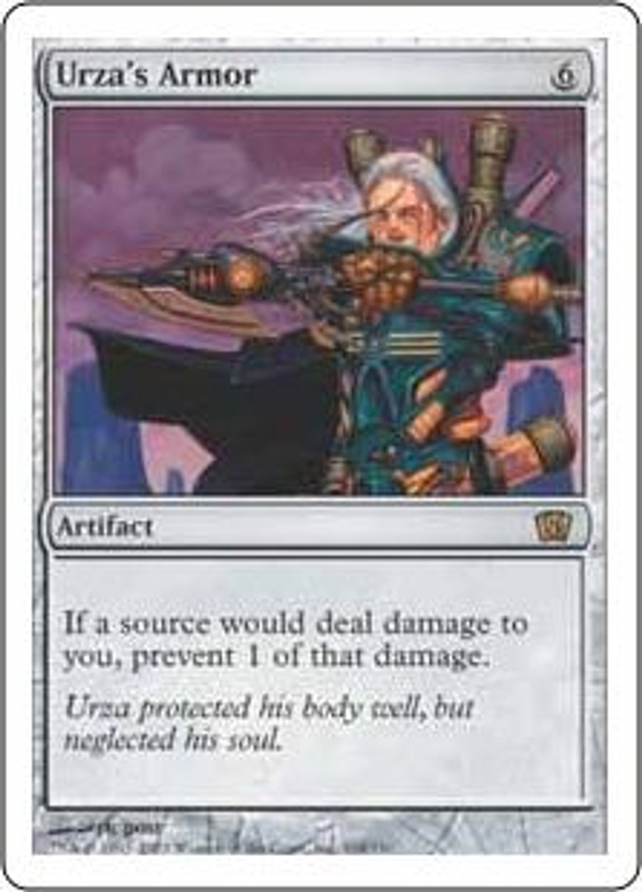 MtG 8th Edition Rare Urza's Armor #318