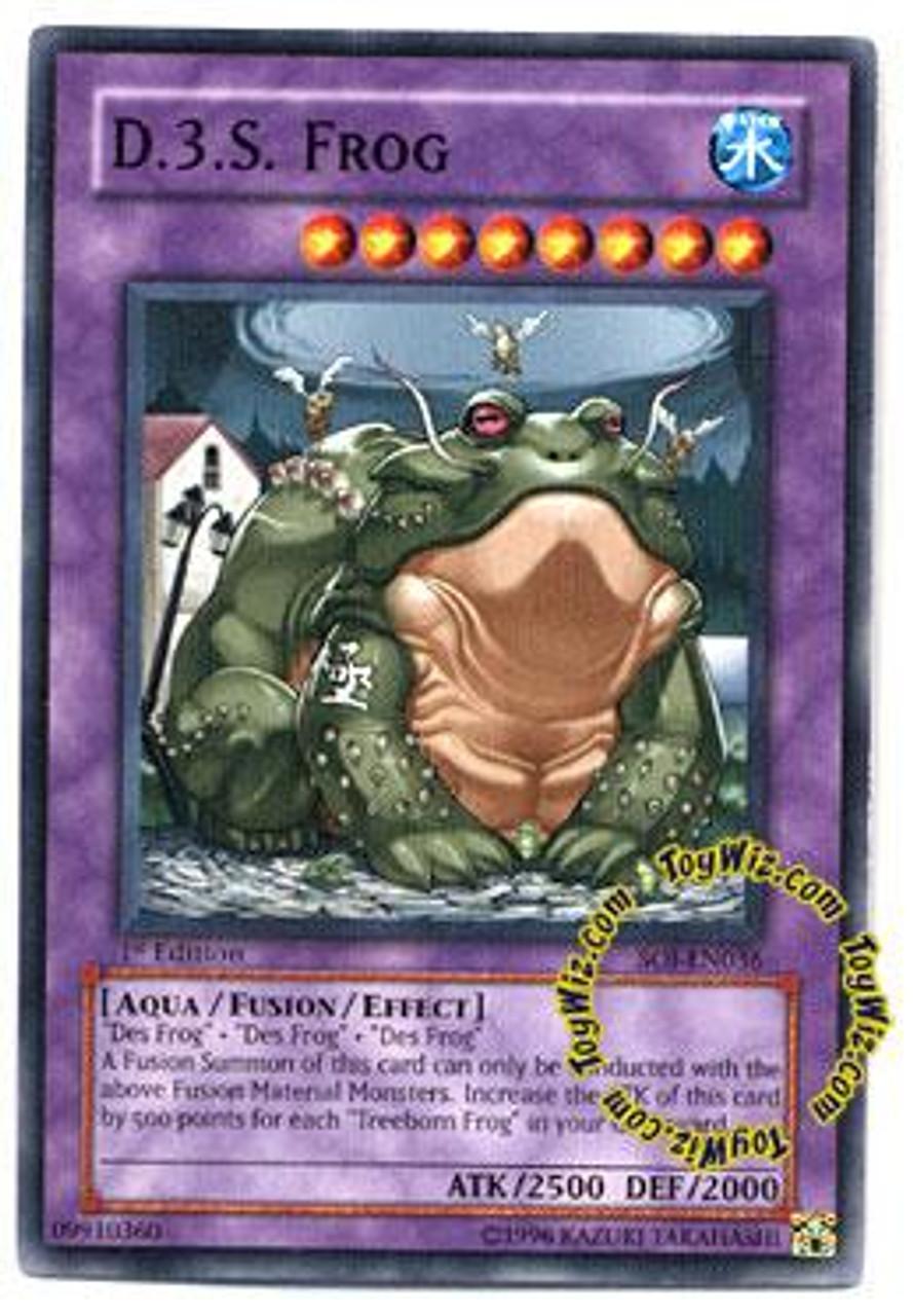 YuGiOh GX Shadow of Infinity Common D.3.S. Frog SOI-EN036