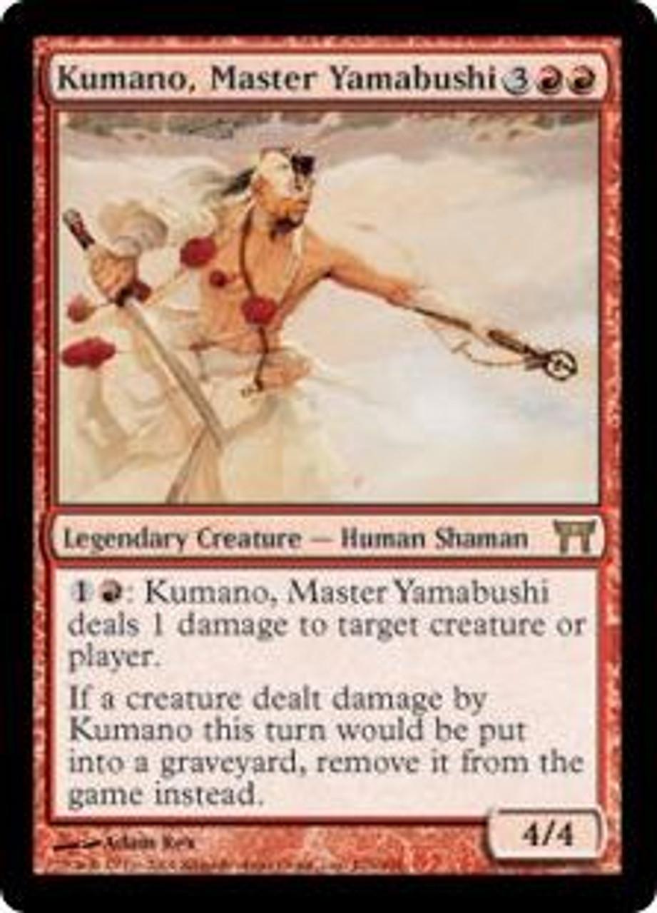 MtG Champions of Kamigawa Rare Kumano, Master Yamabushi #176