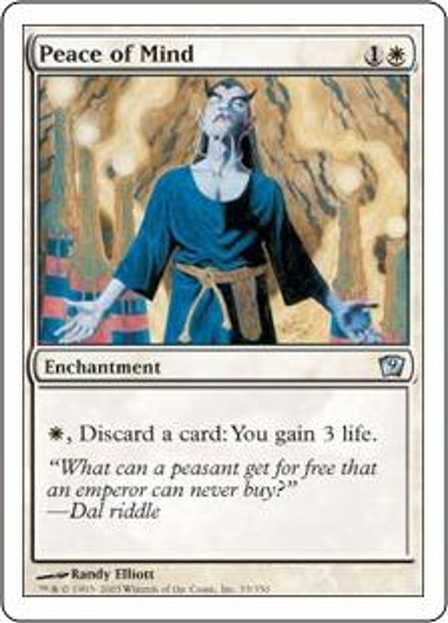 MtG 9th Edition Uncommon Peace of Mind #33