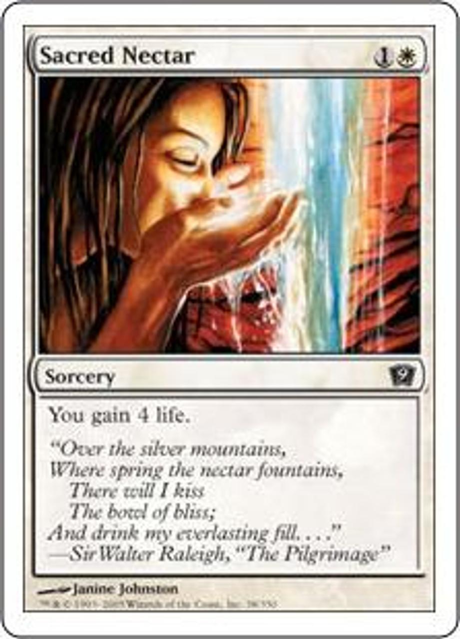 MtG 9th Edition Common Sacred Nectar #38