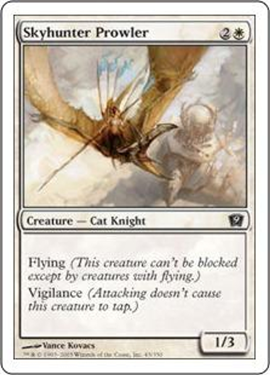 MtG 9th Edition Common Skyhunter Prowler #45
