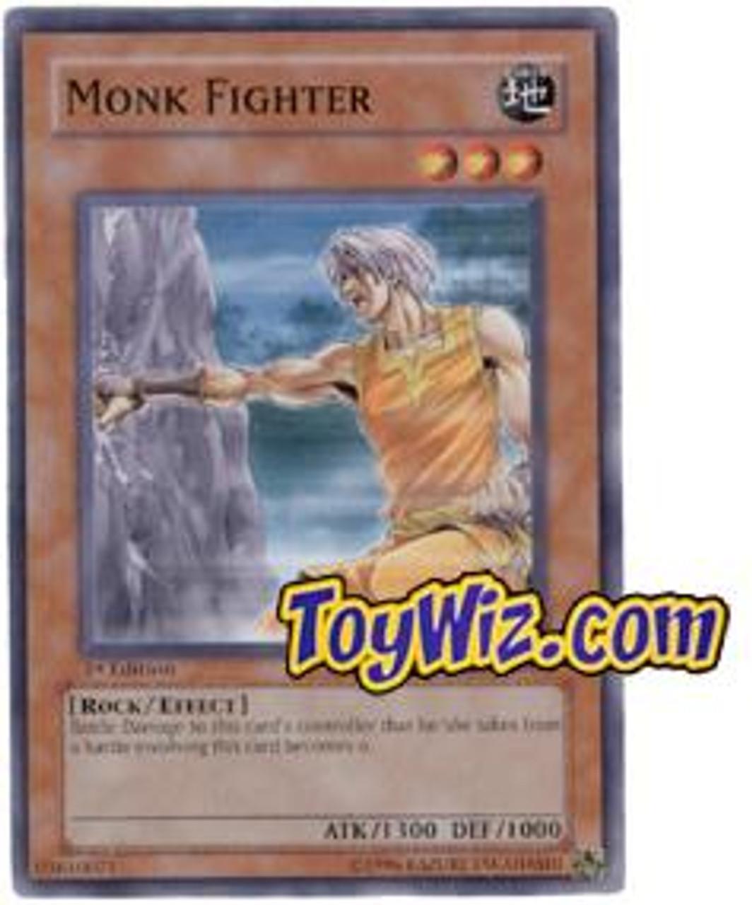 YuGiOh The Lost Millennium Common Monk Fighter TLM-EN019