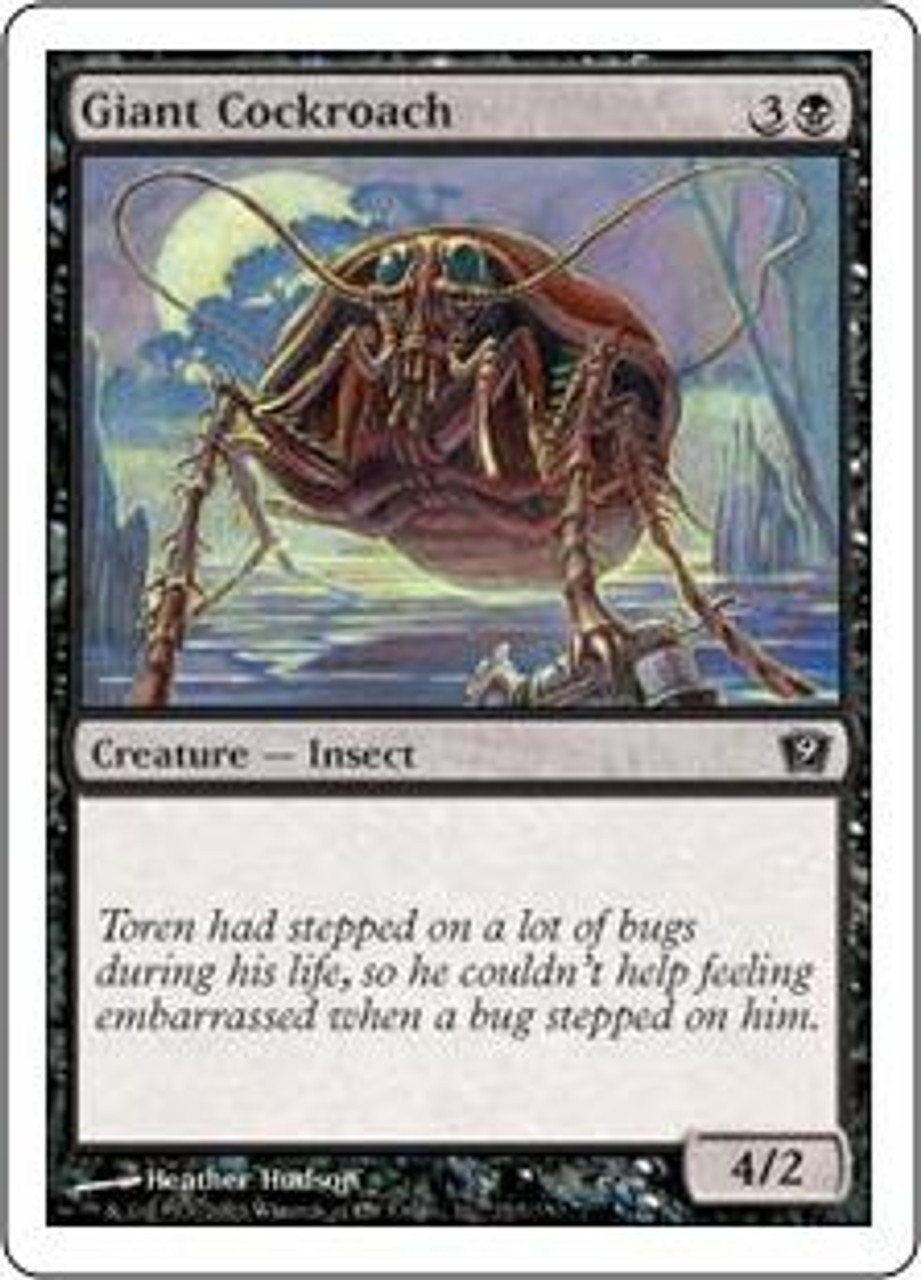 MtG 9th Edition Common Giant Cockroach #133