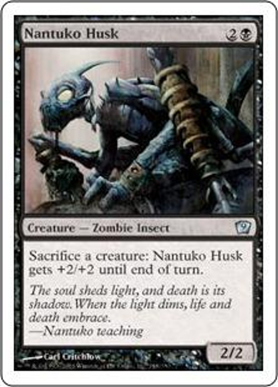 MtG 9th Edition Uncommon Nantuko Husk #148