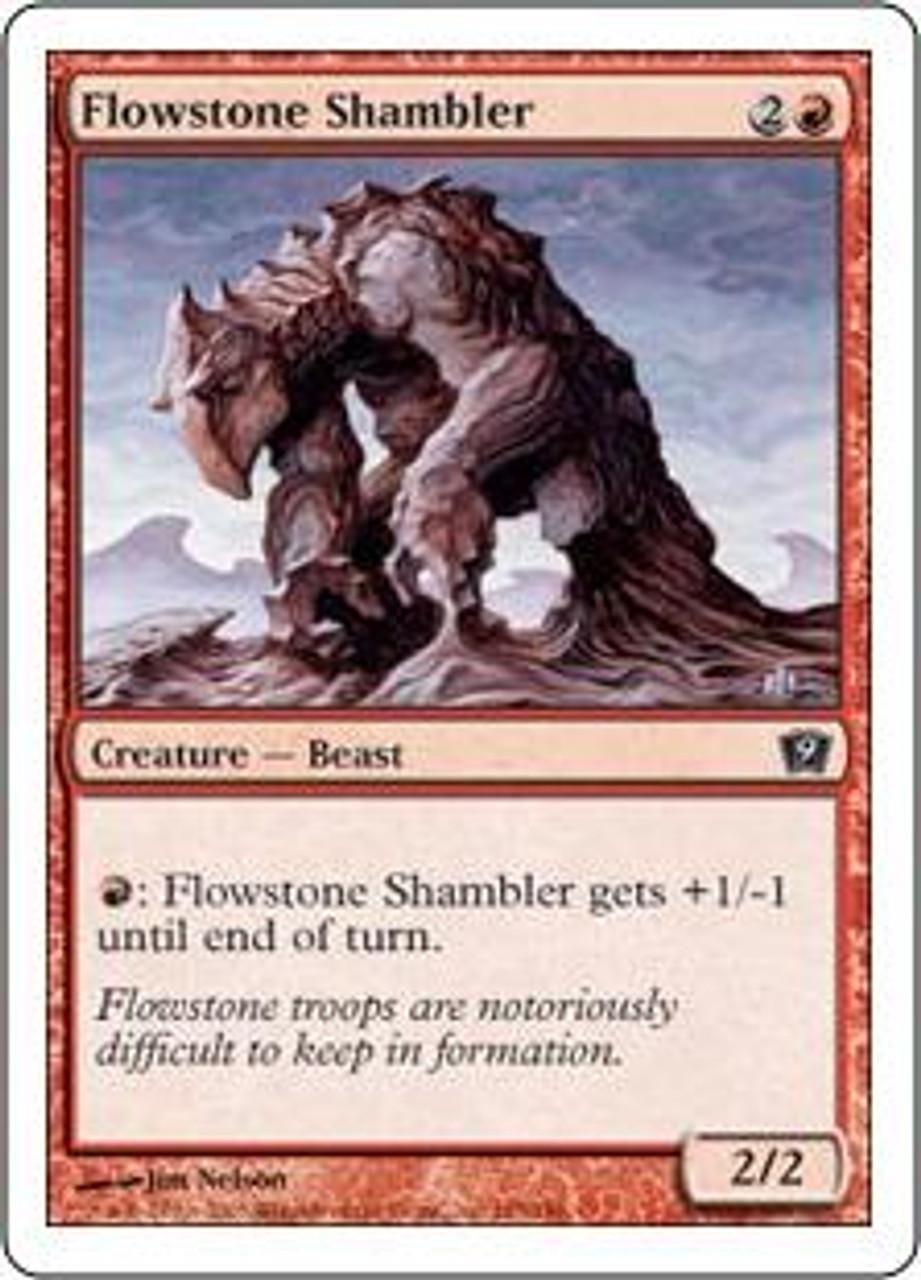 MtG 9th Edition Common Flowstone Shambler #185