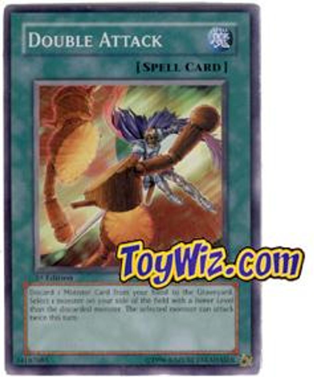 YuGiOh The Lost Millennium Common Double Attack TLM-EN040