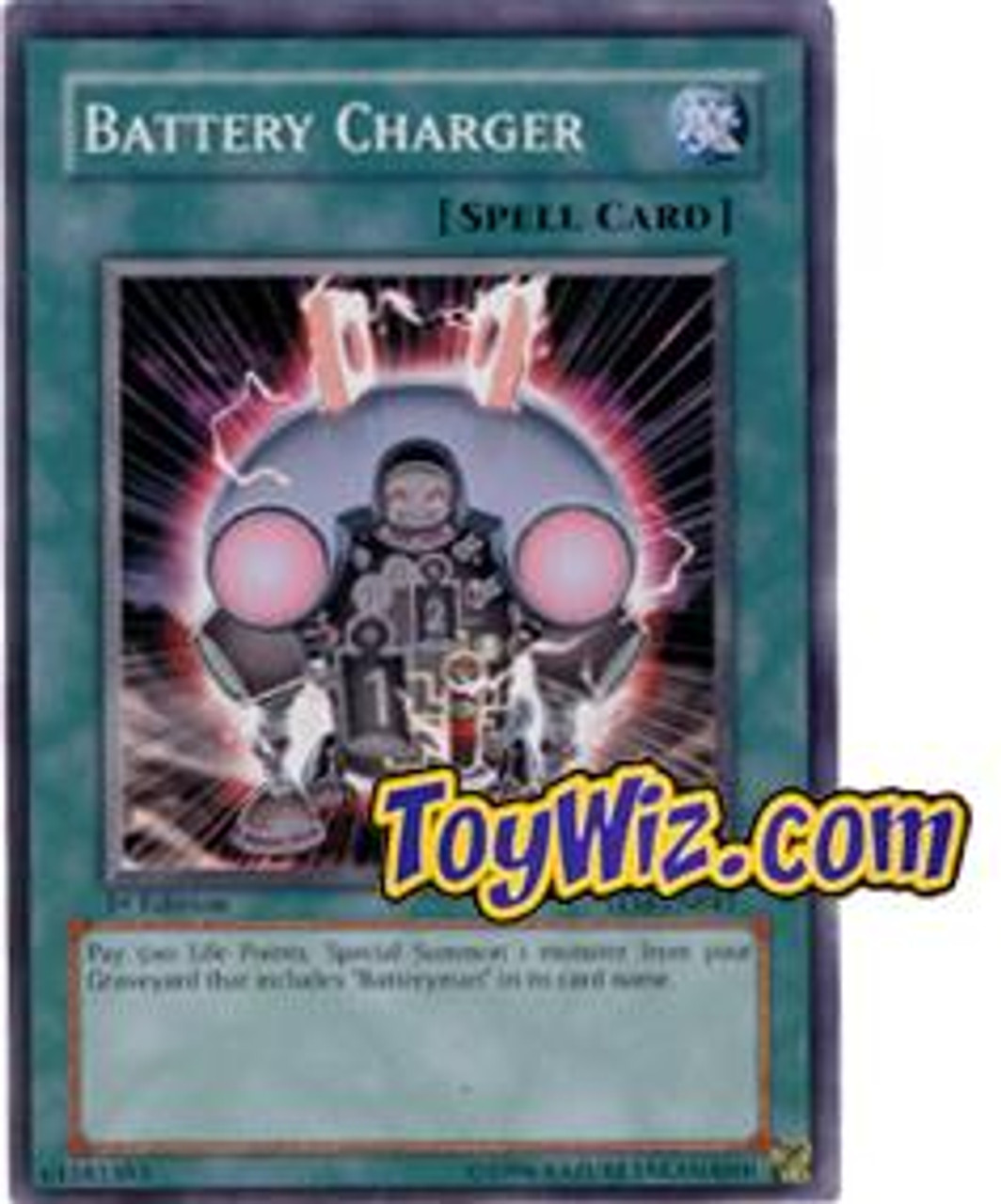 YuGiOh The Lost Millennium Common Battery Charger TLM-EN041