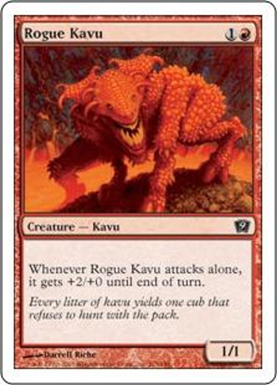 MtG 9th Edition Common Rogue Kavu #213