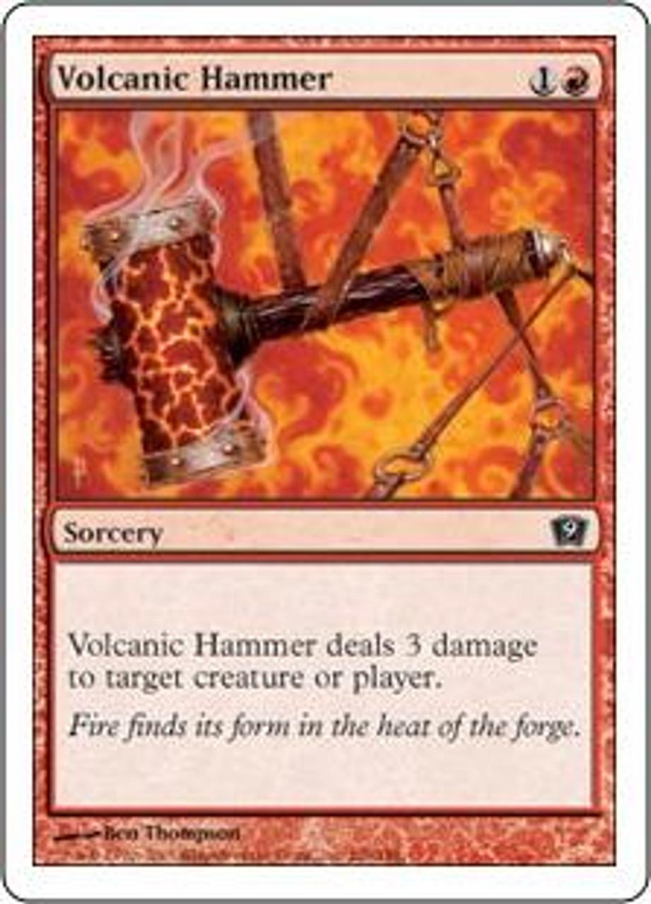 MtG 9th Edition Common Volcanic Hammer #226