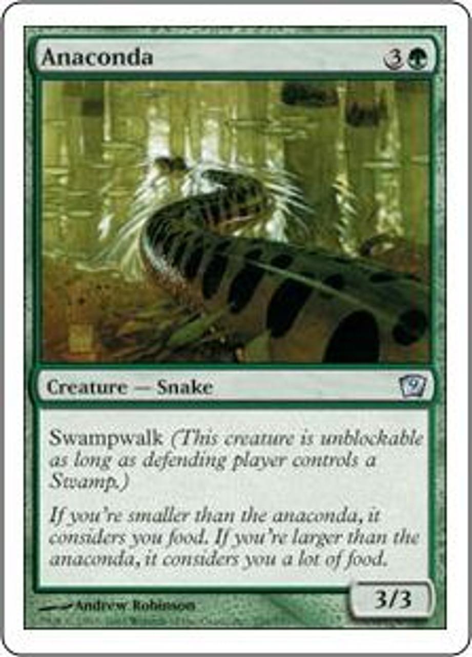 MtG 9th Edition Uncommon Anaconda #229