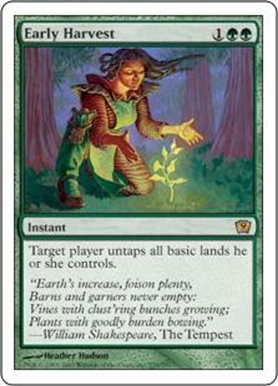 MtG 9th Edition Rare Early Harvest #235