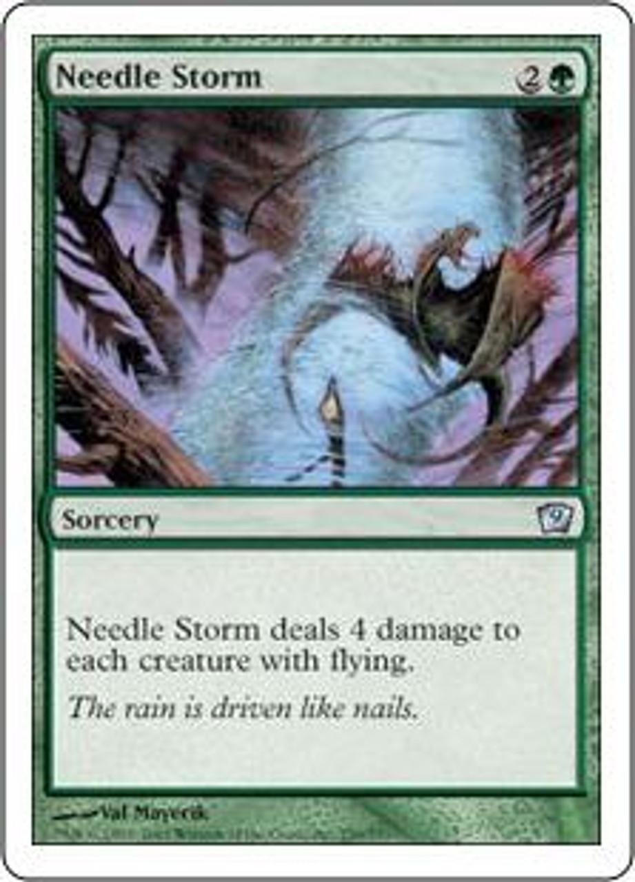 MtG 9th Edition Uncommon Needle Storm #259