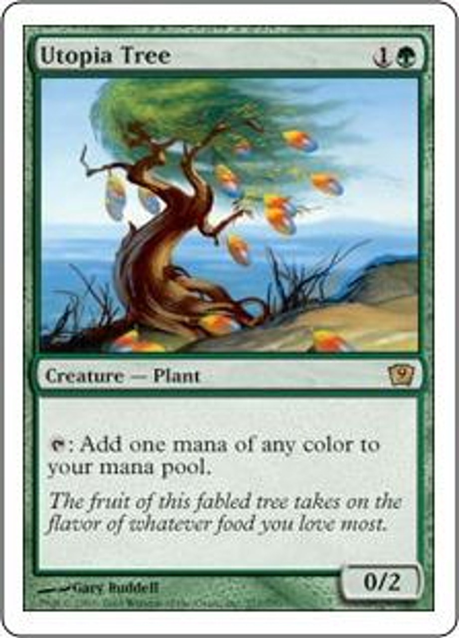 MtG 9th Edition Rare Utopia Tree #277