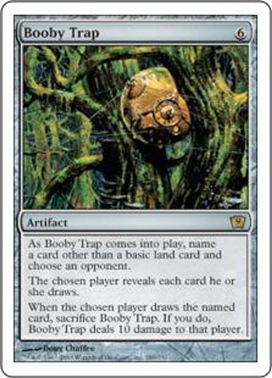 MtG 9th Edition Rare Booby Trap #289