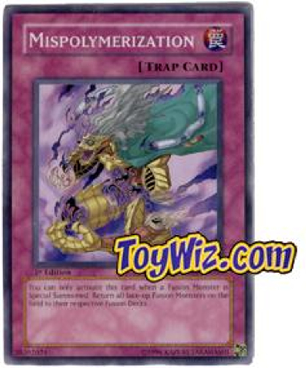 YuGiOh The Lost Millennium Common Mispolymerization TLM-EN053
