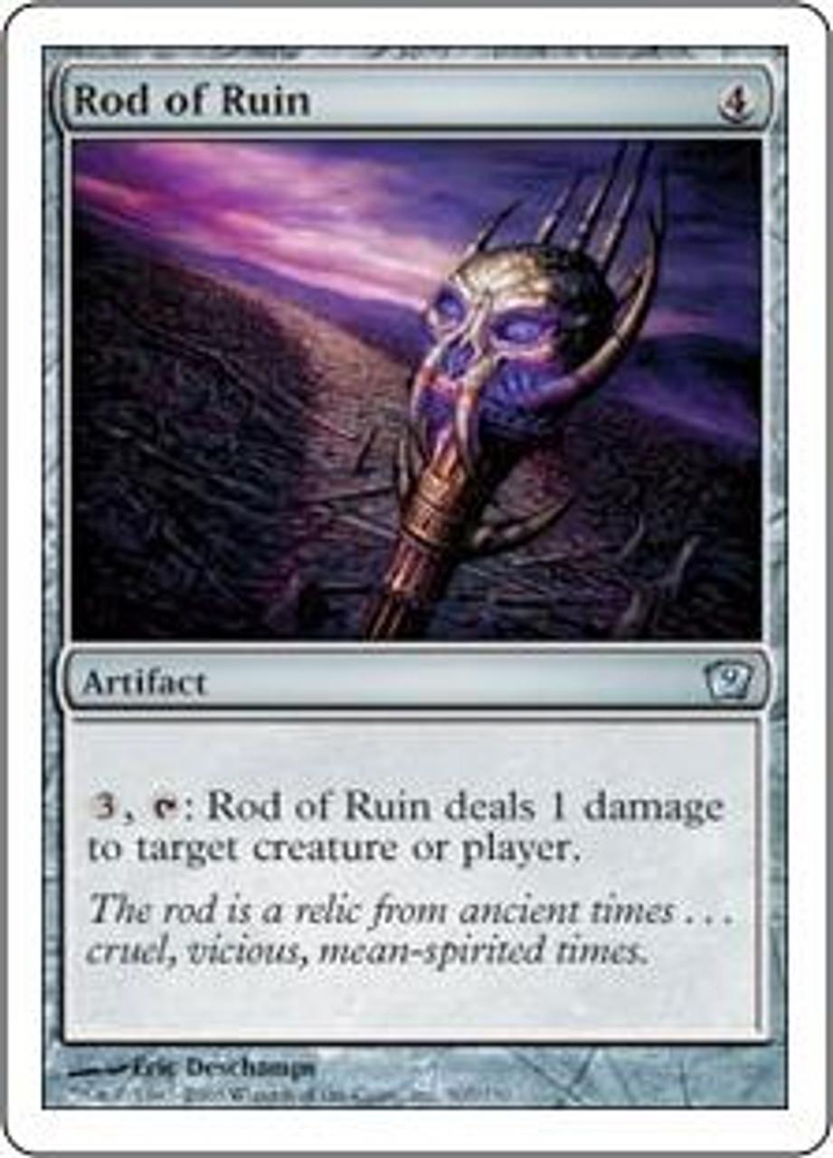 MtG 9th Edition Uncommon Rod of Ruin #307