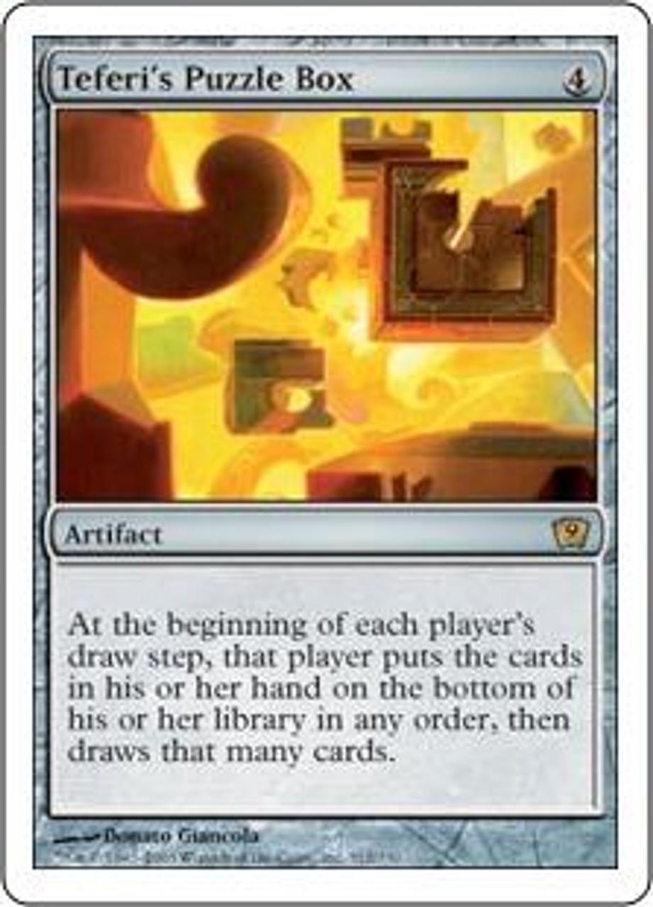 MtG 9th Edition Rare Teferi's Puzzle Box #312