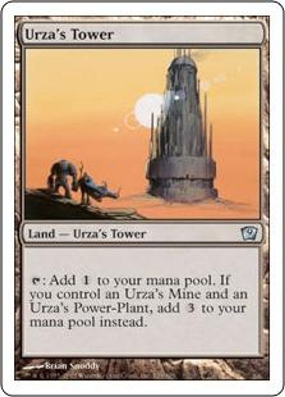 MtG 9th Edition Uncommon Urza's Tower #329