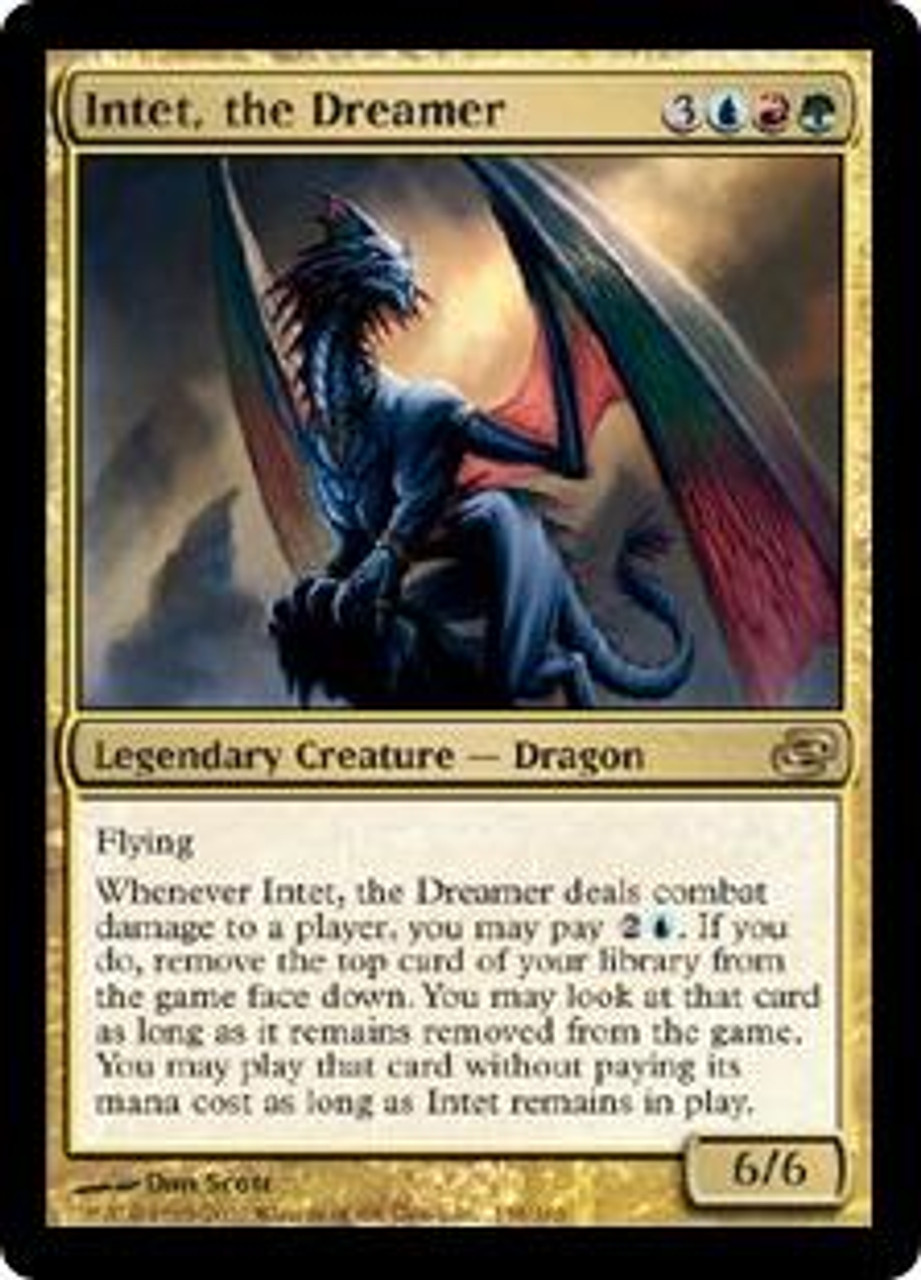 MtG Planar Chaos Rare Intet, the Dreamer #158
