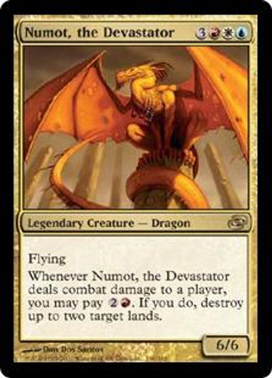 MtG Planar Chaos Rare Numot, the Devastator #160