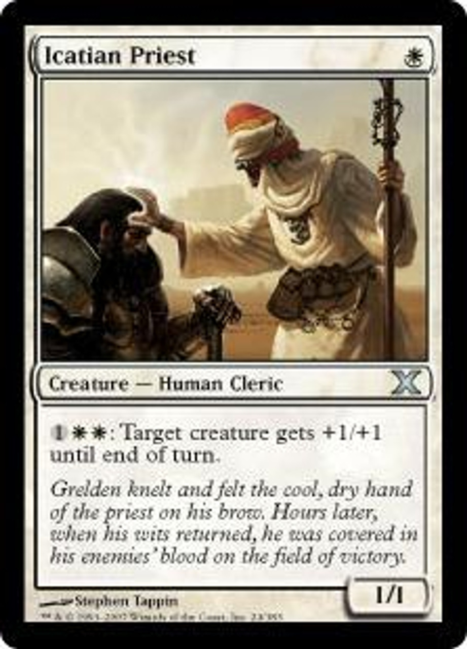 MtG 10th Edition Uncommon Icatian Priest #24