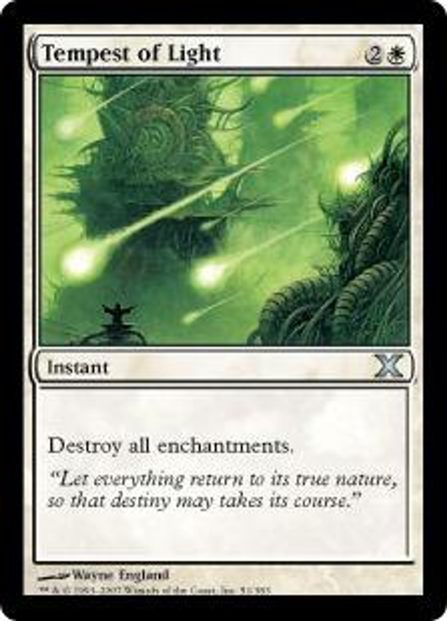 MtG 10th Edition Uncommon Tempest of Light #51