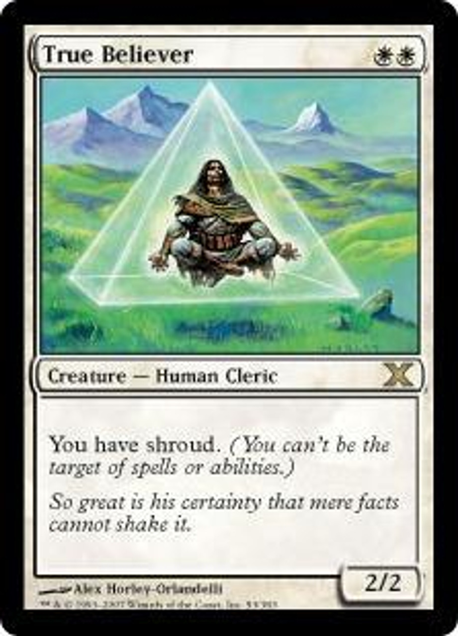 MtG 10th Edition Rare True Believer #53