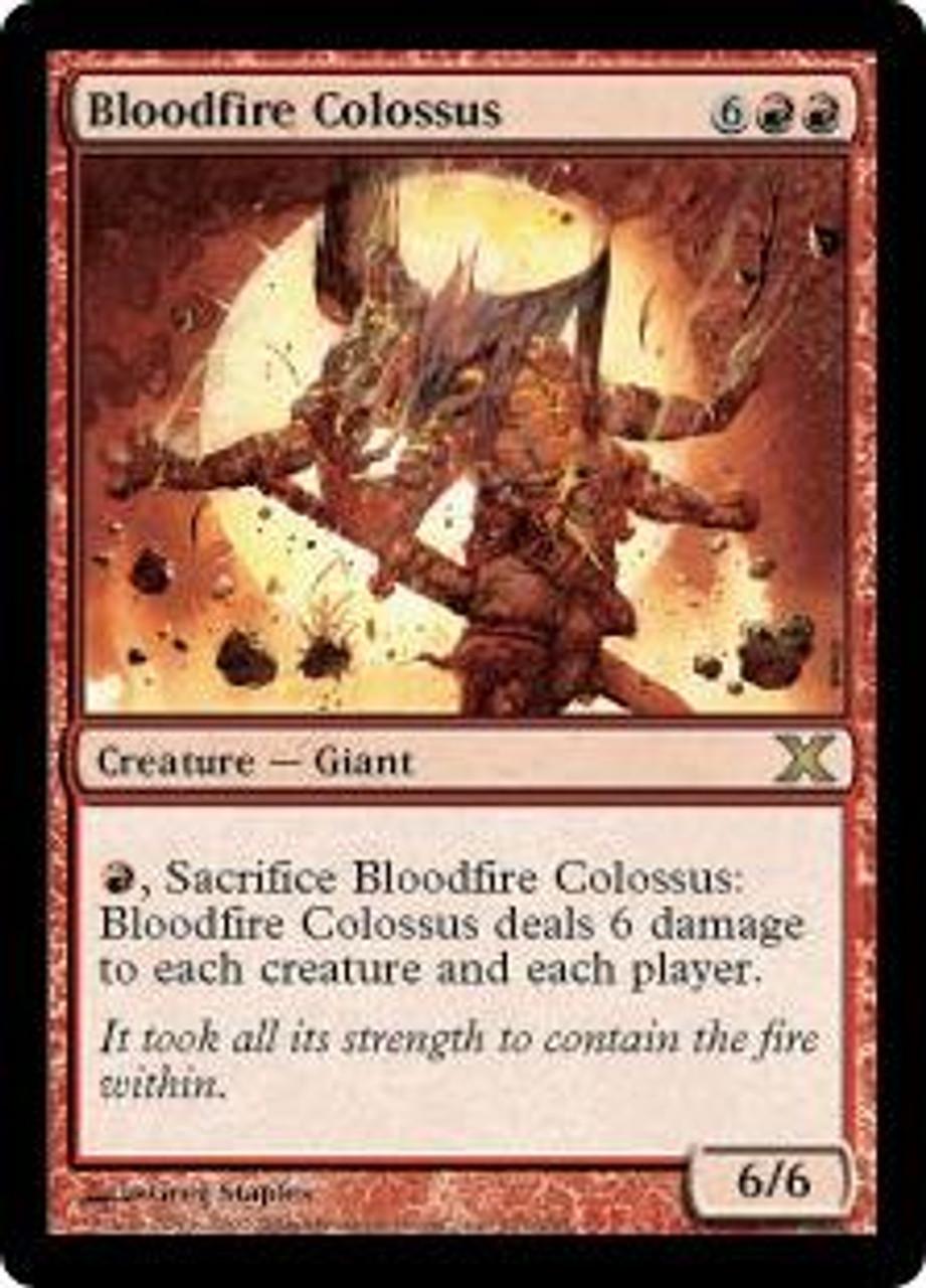 MtG 10th Edition Rare Bloodfire Colossus #191