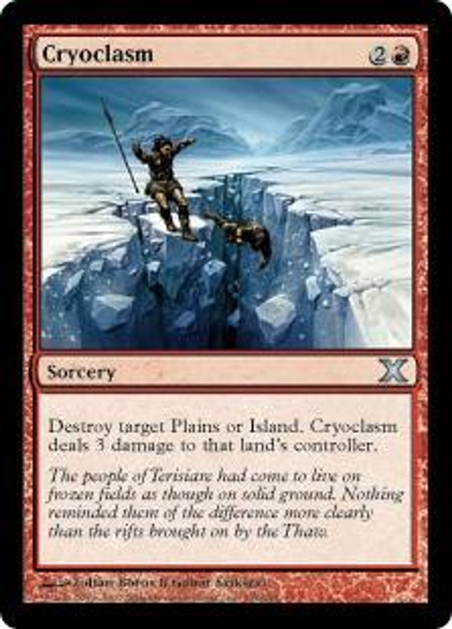 MtG 10th Edition Uncommon Cryoclasm #195