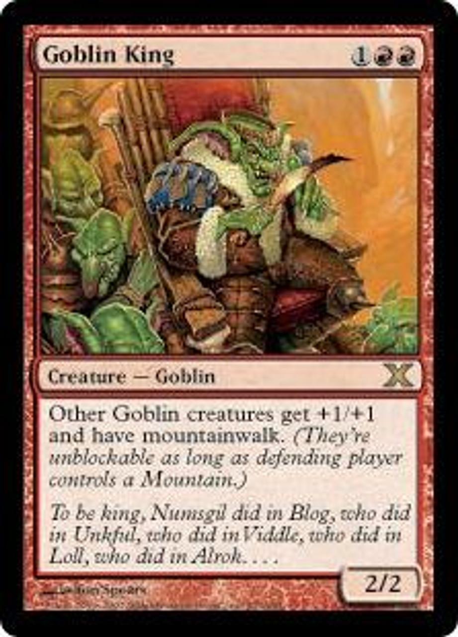 MtG 10th Edition Rare Goblin King #207