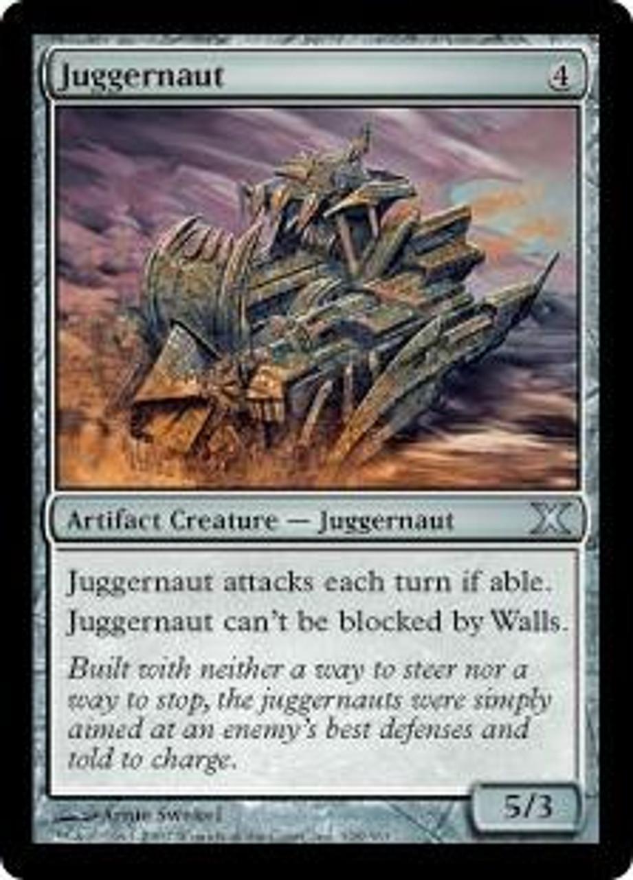 MtG 10th Edition Uncommon Juggernaut #328
