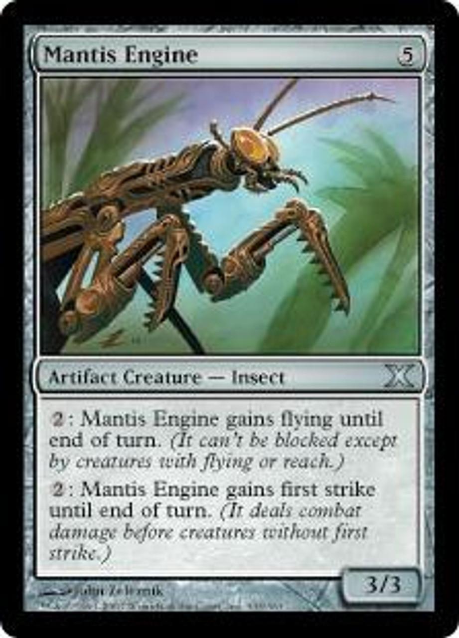 MtG 10th Edition Uncommon Mantis Engine #333