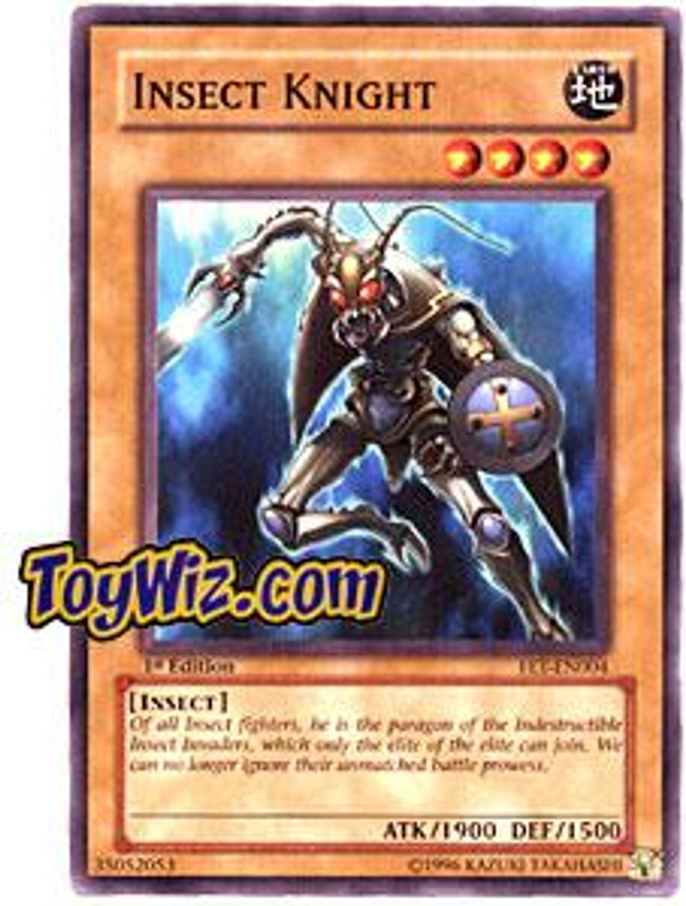 YuGiOh Flaming Eternity Common Insect Knight FET-EN004